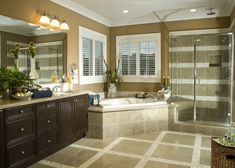 master bathroom corner tubs images - Google Search