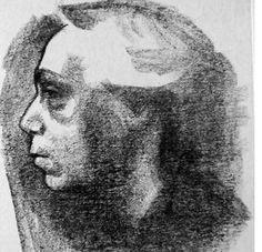 Kathe Kollwitz  석판화 (1919)    자화상을 그린다는 것은 무슨 뜻일까?   누구보다 자화상을 많이 남긴 케테 콜비츠에게 자화상은 어떤 의미를 지니는 것일까?