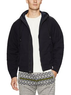 Burkman Bros Hooded Puffer Jacket