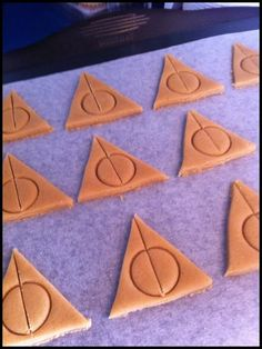 Deathly hallows cookies