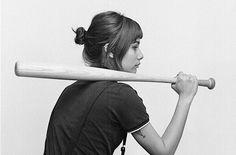 Photography / Woman Baseball — Designspiration