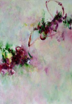 "Saatchi Art Artist Ines Sun; Painting, ""Spring Song No. 6  春頌"" #art"