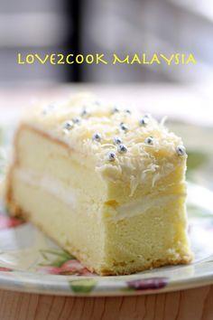 Snow Cheesecake.... Apple Turnover Recipe, Turnover Recipes, Cake Cookies, Cupcake Cakes, Cupcakes, Guava Desserts, Sponge Cake Recipes, Malaysian Food, Cake Flour