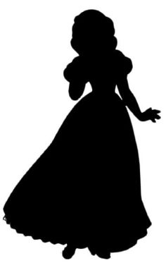 Silhouette Snow White