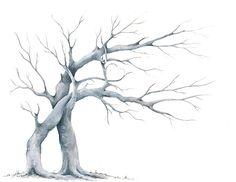 Svatební strom hostů