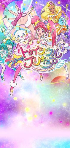スター☆トゥインクルプリキュア Twinkle Star, Twinkle Twinkle, Force Pictures, Smile Pretty Cure, Glitter Bomb, Glitter Force, Glitter Fabric, Pretty And Cute, Magical Girl