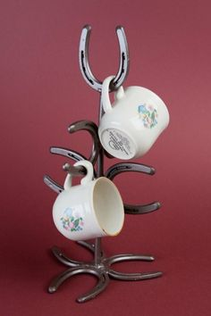coffee cup holder stand