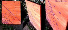 No Name / Violet on Orange by MileniaLicorne.deviantart.com on @deviantART