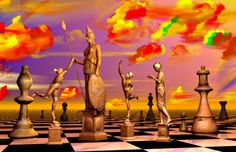 A contemporary art piece by Errico, a surrealist who specializes in several themes including chess. Surreal Photos, Surreal Art, Abstract Format, Dream Jar, Surrealism Painting, Nautical Art, Hyperrealism, Modern Artists, Before Us