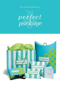 The perfect package! http://www.luluavenue.com/sites/Alisha