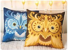 Threadbear Studios' awesome new pillows!
