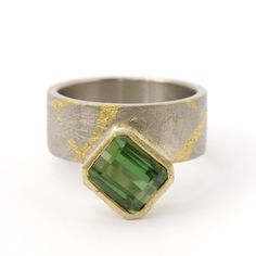 Tourmaline Ring | Contemporary Rings by contemporary jewellery designer Will Evans
