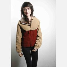 Zia Vintage | '70s Corduroy Plaid Parka Jacket multi, women's apparel, women's outerwear
