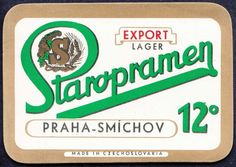 Beer label, Czech - this is one of my favorites! Vintage Packaging, Vintage Labels, Love Posters, Travel Posters, Czech Beer, My Roots, Beer Label, Getting Bored, Work Inspiration
