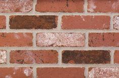 Old Mystic Tumbled Brick by Redland Brick Brick Colors, Stain Colors, Types Of Bricks, Thin Brick, Stone Backsplash, Old Bricks, Brick Wall, House Colors, Mystic