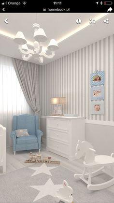 Babyzimmer grau blau hell elegant Babyzimmer grau - Stauraum im Babyzimmer Baby Boy Room Decor, Baby Room Design, Boy Decor, Baby Bedroom, Baby Boy Rooms, Baby Boy Nurseries, Nursery Room, Girl Room, Kids Bedroom