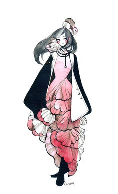 Fashion Illustration by Maruti Bitamin