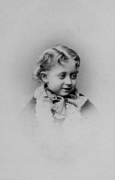 "Princess Maud (Maud Charlotte Mary Victoria (1869-1938) of Wales, UK. 5th child of Edward VII (Albert Edward) (1841-1910) & Alexandra (1844–1925) Denmark. was a high-spirited child, a quality that earned her the nickname ""Harry"". She was brought up with a freedom which was disliked by her grandmother, Queen Victoria (1819-1901) UK. She later became the wife of King Haakon VII (Prince Carl of Denmark & Iceland) (born Christian Frederik Carl Georg Valdemar Axel) (1872-1957) Norway."
