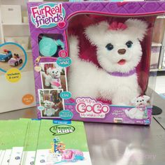 Looking for the perfect toy for someone? Try the FurReal Friends Get Up & GoGo My Walkin Pup Pet by Hasbro.