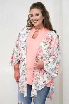 Spring Time Kimono   Plus