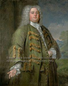 Samuel Browne, by John Smibert, 1734