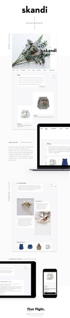 A Template Website by First Flight Studio