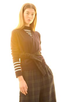 #Design #Alpha60 #Alpha60 Fashion Fashion Labels, Fashion Boutique, High Neck Dress, Dresses With Sleeves, Knitting, Unique, Long Sleeve, Tops, Design