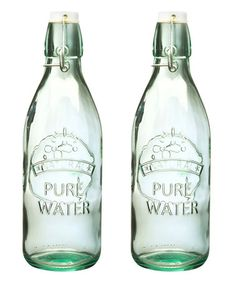 Another great find on #zulily! Water Tap Bottle - Set of Two #zulilyfinds