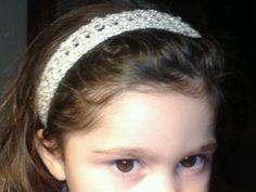 Crocheted head band