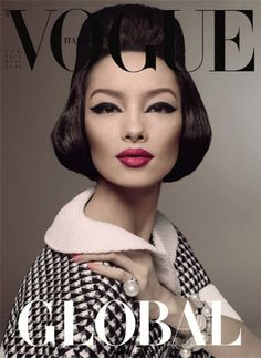 Fei Fei Sun para Vogue Italiana