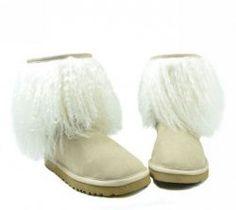 UGG Sheepskin Cuff Boot Sand