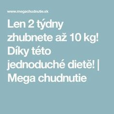 Len 2 týdny zhubnete až 10 kg! Keto Recipes, Smoothies, Food And Drink, Health, Blog, Body Exercises, Decor, Decoration, Salud
