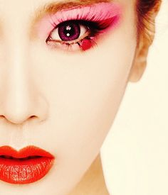 Japan Geisha make up - Fashion and Love