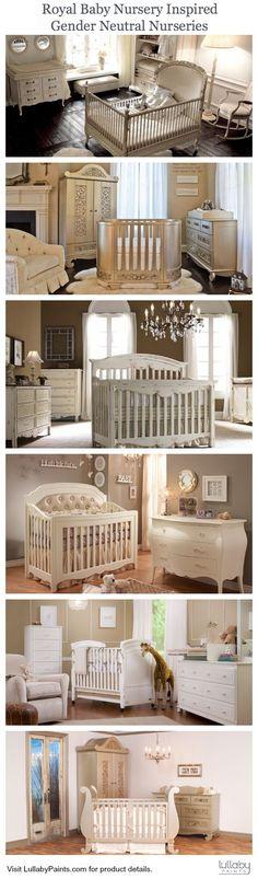 Royal Baby Nursery Inspiration: Neutral #Nursery Ideas