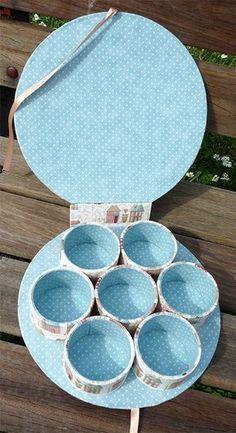 Achievements May 2015 – Linen Association, Silk Cross - Modern Tin Can Crafts, Diy Home Crafts, Diy Arts And Crafts, Diy Gift Box, Diy Box, Diy Gifts, Cardboard Box Crafts, Paper Crafts, Diy Para A Casa