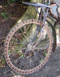 WW1 German's Bicycle Victoria Springwheel