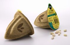 Miracle-Gro Gro-ables Seed Pod's — The Dieline - Branding & Packaging Design Seed Packaging, Coffee Packaging, Brand Packaging, Organic Packaging, Biodegradable Packaging, Biodegradable Products, Big Garden, Party Garden, Garden Modern