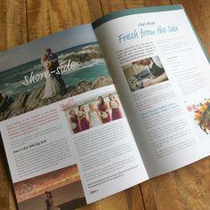 Headland Lifestyle Magazine  #lifestyle #magazine #inroominformation #recipeidea #weddingtestimonial #headlandhotel #newquay #cornwall #print #design #marketingcollateral