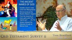 Old Testament Survey Video 2:  A Hebraic view #Hebrewroots #Messianic Tom Bradford TorahClass.com Seed of Abraham Ministries Genesis, Exodus