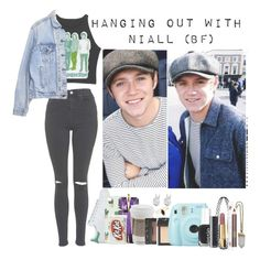 """""""Hanging out with Niall(bf)"""" by rosita562 ❤ liked on Polyvore featuring Topshop, Levi's, Bing Bang, Rock 'N Rose, adidas, Thierry Mugler, NARS Cosmetics, Fuji, Essie and Chanel"""