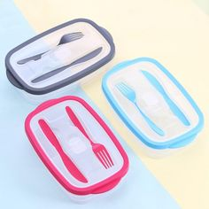 Plastic budget and eco-friendly lunch box Cutlery Storage, Lunch Box Containers, Storage Design, Heating And Cooling, Budgeting, Two By Two, Eco Friendly, Plastic, Kids