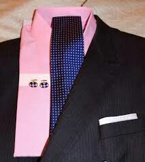 Black suit white shirt and striped tie things wish list for Black shirt and tie combinations