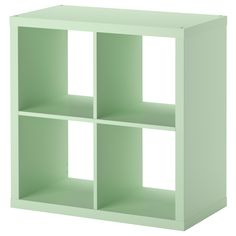 "KALLAX Shelving unit, light green $34.99 Product dimensions Width: 30 3/8 "" Depth: 15 3/8 "" Height: 30 3/8 "" Max load/shelf: 29 lb Max. load/wall cabinet: 44 lb 1 oz"