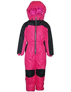 Great Sale Pulse Little Girls and Toddler 1 Piece Snowsuit Coveralls Cutie Juicy Melon) Snow Wear, Snow Suit, Winter Accessories, Latest Fashion Trends, 1 Piece, Motorcycle Jacket, Little Girls, Rain Jacket, Girl Fashion