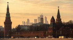 View of the Moscow Kremlin. © Evgenya Novozhenina