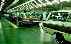 1966 Mercury Assembly Line at Ford's St. Louis Assembly Plant