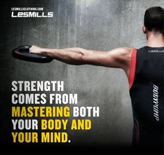 Master your mind so you can listen to your body - and then push it to your limits!