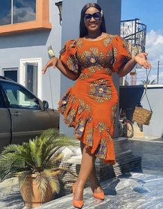 African Lace Styles, Short African Dresses, Latest African Fashion Dresses, African Print Fashion, Ankara Fashion, Africa Fashion, African Prints, Best African Dress Designs, African Fabric