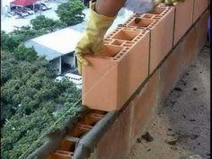 Alvenaria de vedação racionalizada com blocos cerâmicos