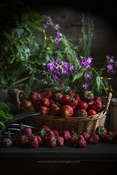 #strawberries #truskawki